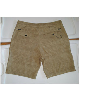 QUIKSILVER Casual Surf Board Shorts Brown 34 CC76